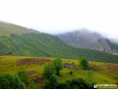 Corazón de Picos de Europa;peña trevinca mapa senderismo valle de tena puig campana senderismo anc